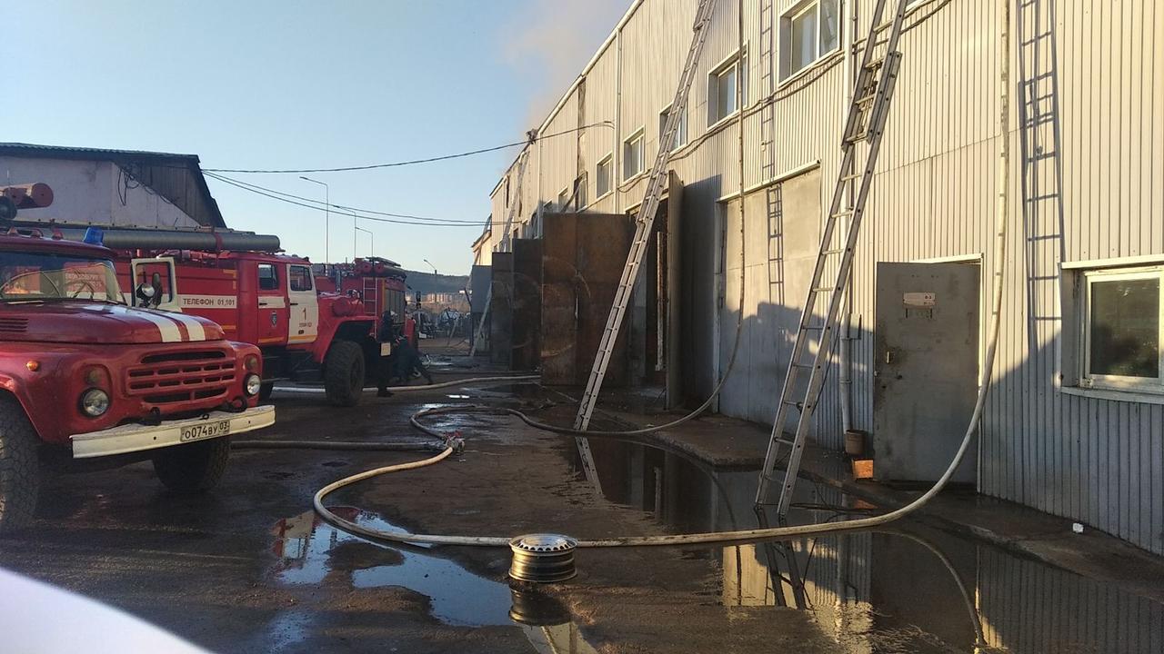 Пожар в городе Улан-Удэ — МЧС России по Республике Бурятия