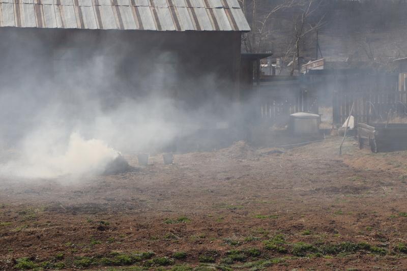 Поджигателей сухой травы выявляют с помощью беспилотников