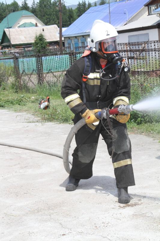 Лучших специалистов огненной профессии выбрали в Бурятии